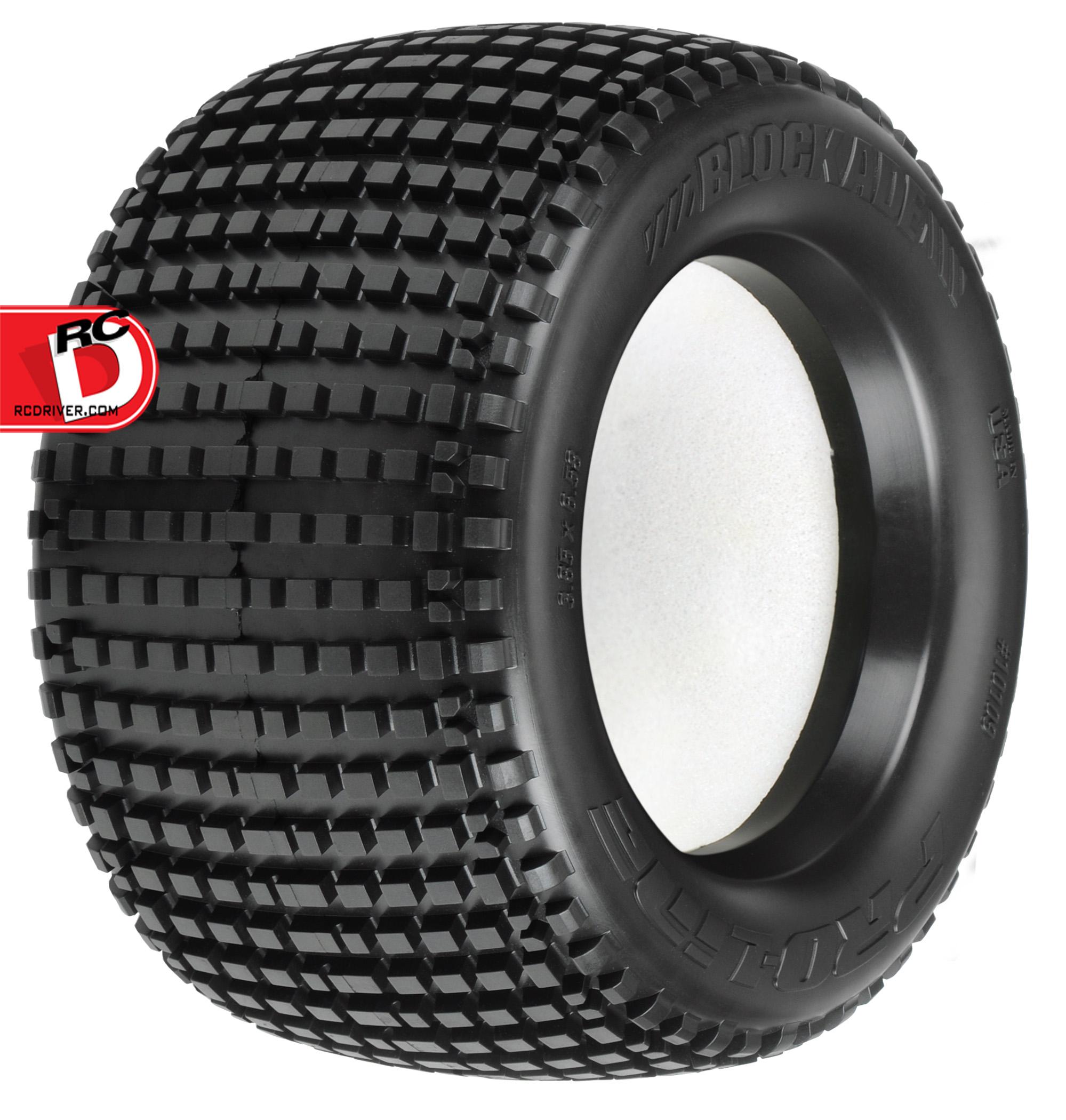 Pro-Line Blockade 3.8″ (Traxxas Style Bead) All Terrain Tires
