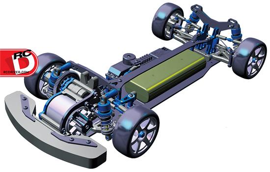 Tamiya FF-04 EVO Chassis Kit