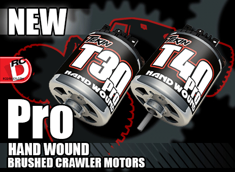 Team Tekin Pro Hand Wound Brushed Crawler Motors