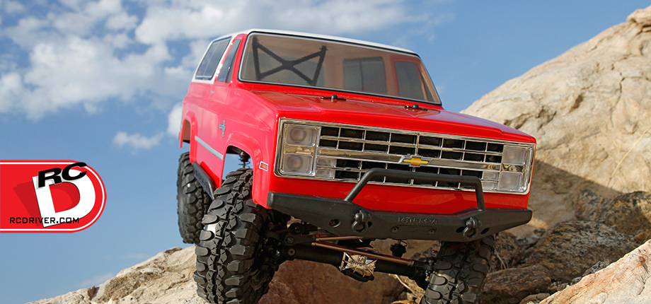 Check It Out!  The Vaterra 1986 Chevrolet K-5 Blazer Ascender RTR