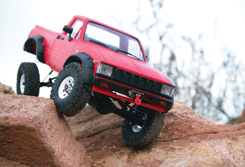 Upgrading the RC4WD Trail Finder 2