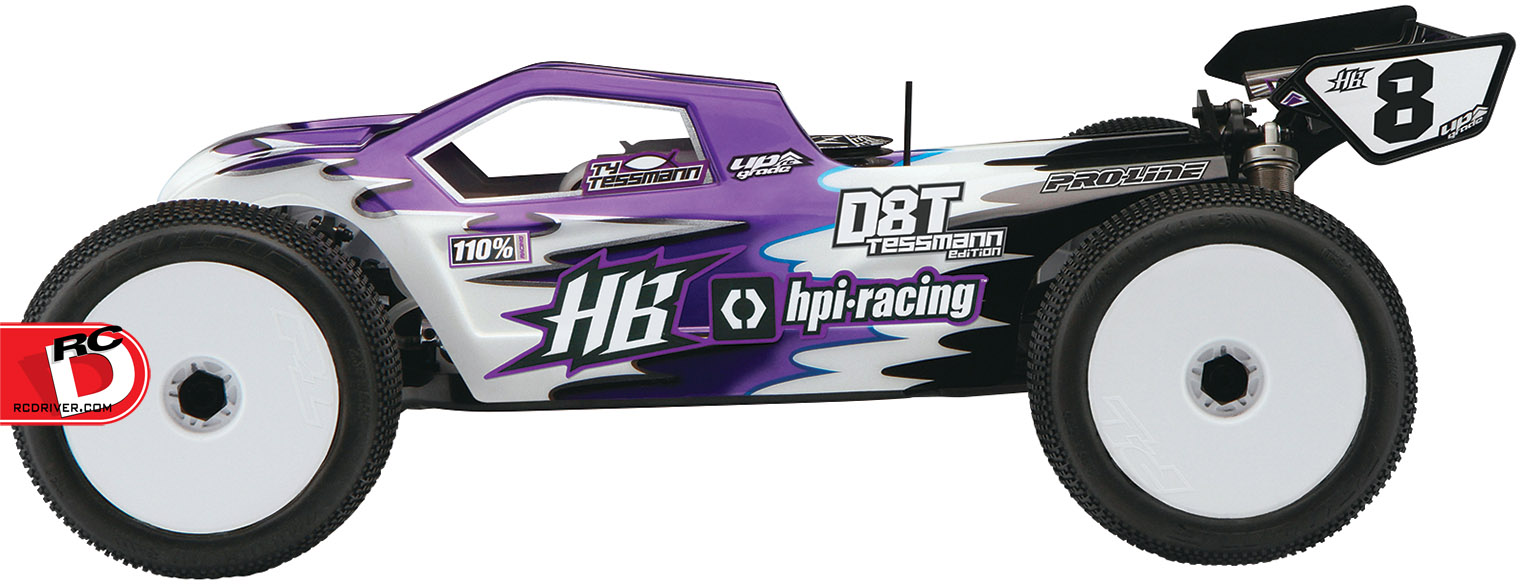 HPI D8T Tessmann Edition 1/8 Scale 4WD Truggy Kit