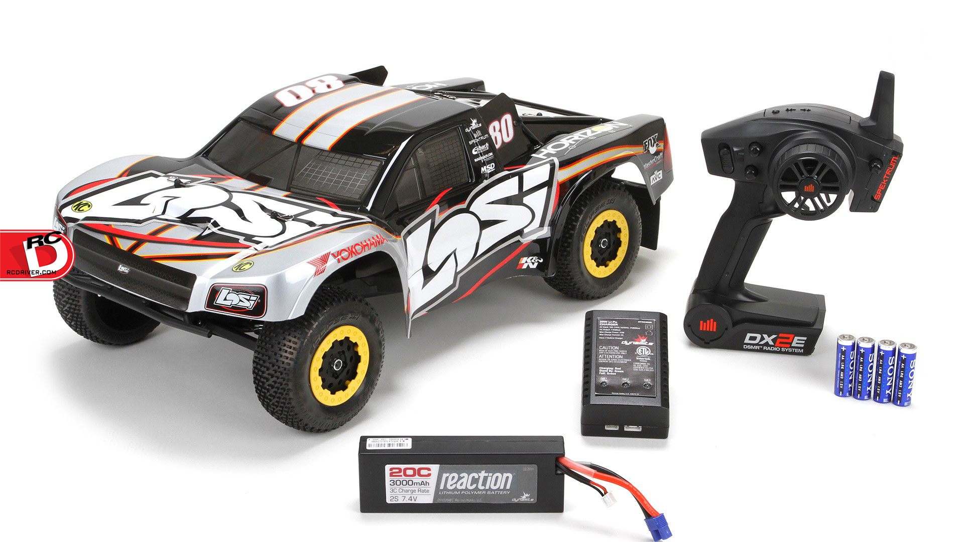 Losi XXX-SCT Brushless- Faster and More Powerful
