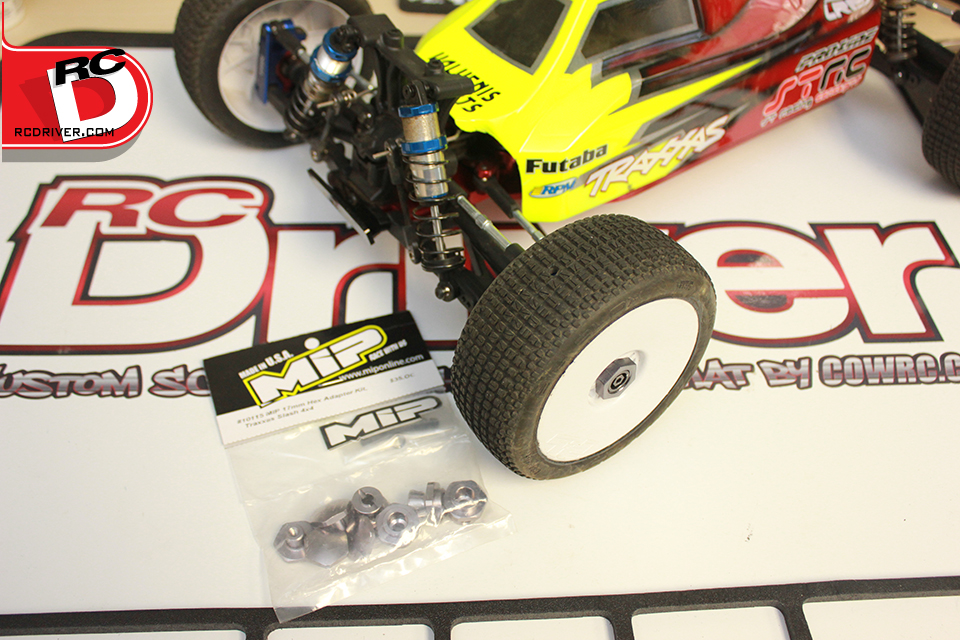 Install MIP's 17mm Hex Adapter Kit on a Traxxas Slash 4×4