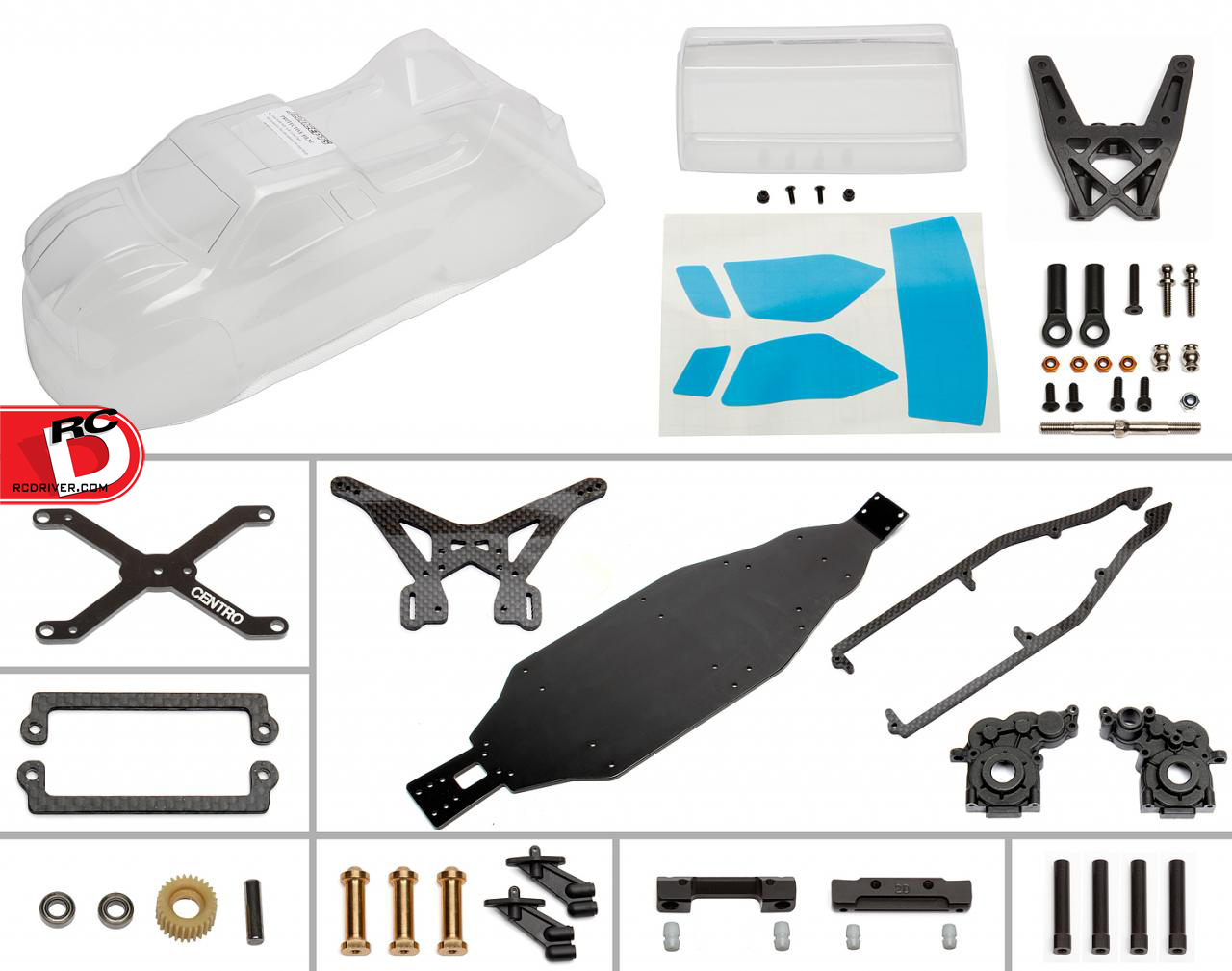 Team Associated CT4.2 Mid Motor Conversion Kit for the RC10T4.2