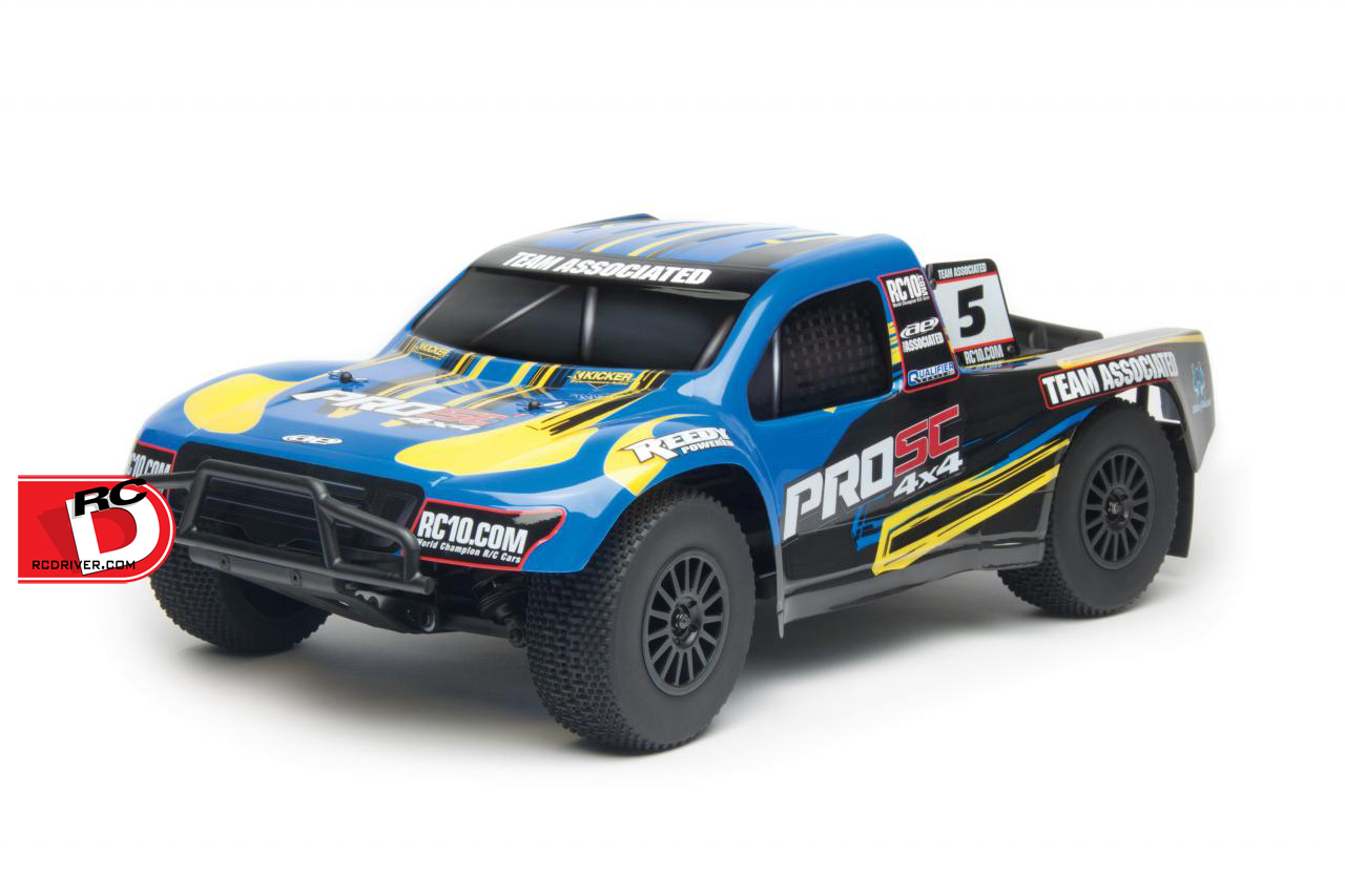 Team Associated ProSC 4×4 Ready-To-Run