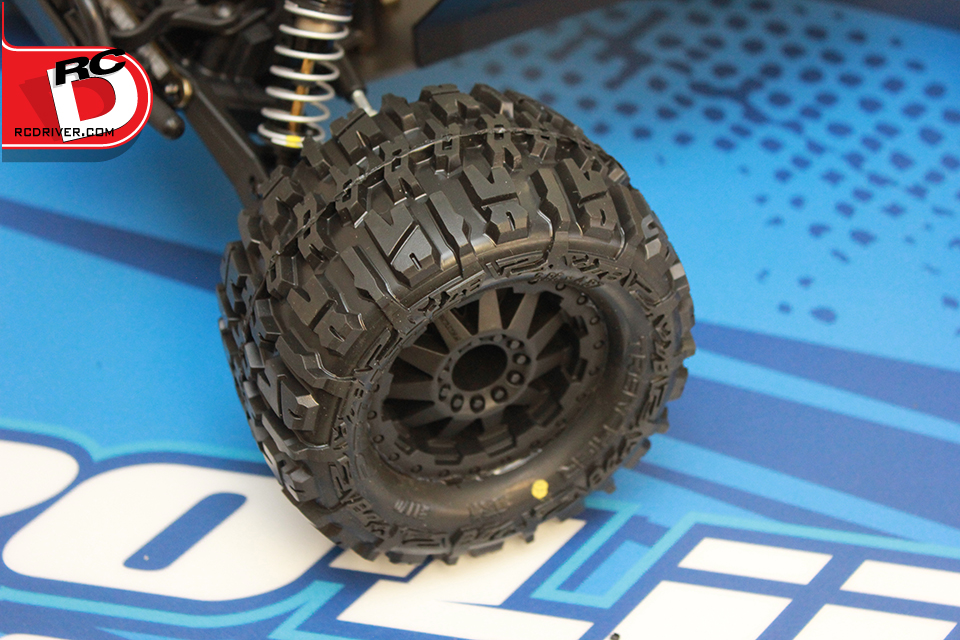 Premounted Tires Rc Driver
