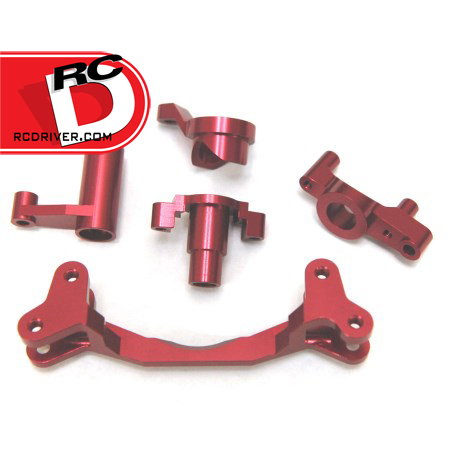 Go Red!  Limited Edition Red Anodized Option Parts from STRC for Axial Vehicles