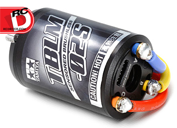 Tamiya Goes Brushless with the 10.5 and 15.5 Turn TBLM-02S Brushless Motors