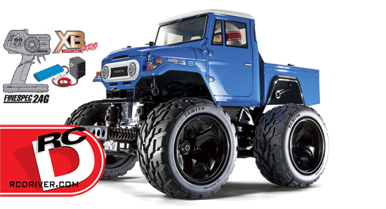 Tamiya Toyota Land Cruiser 40 – GF01 Pick-Up RTR