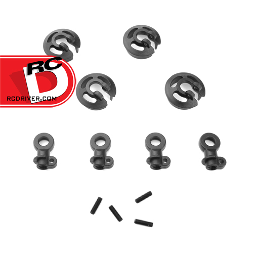 TeknoRC Locking Shock Rod Ends and Spring Perch Set