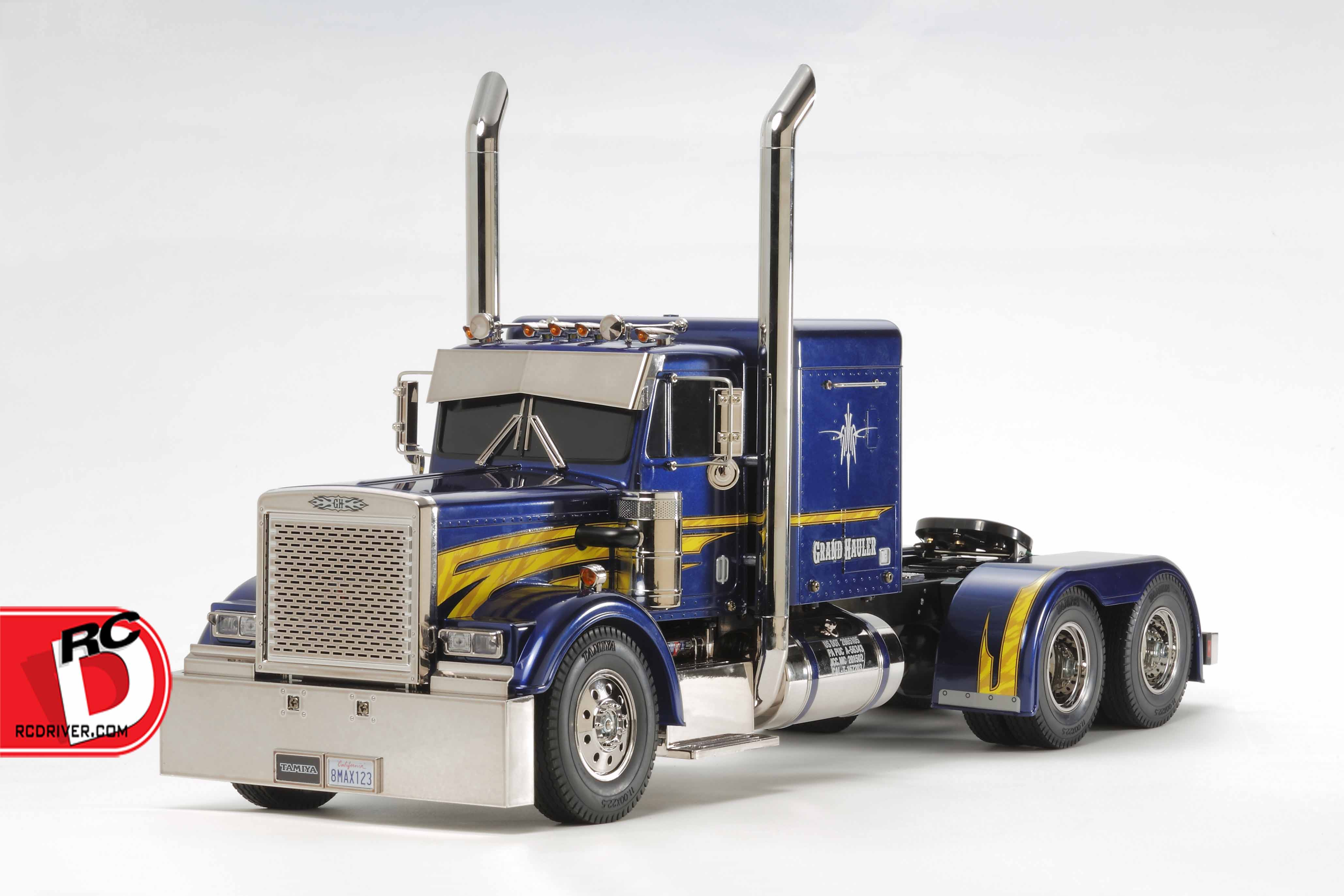 Big Rig FUN!  The Tamiya Grand Hauler