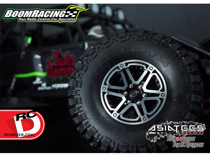 Boom Racing's Beadlock Wheels Unleashed at AsiaTees