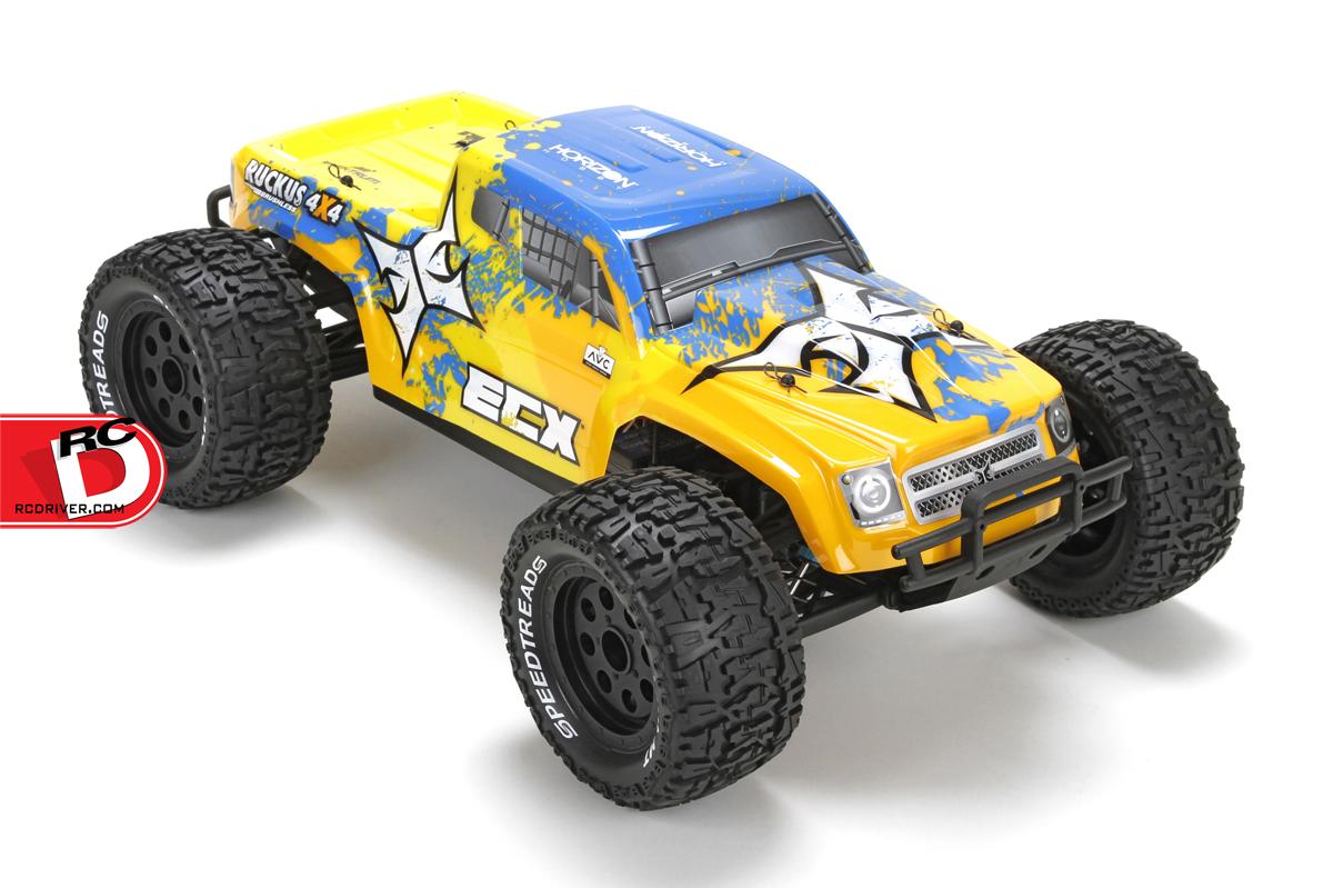 ECX Ruckus 4WD BL AVC Monster Truck