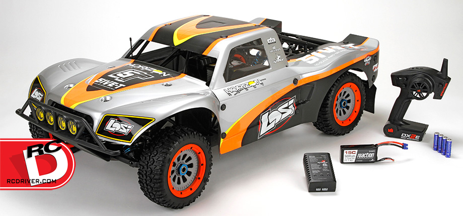 Losi 5IVE-T RTR with AVC