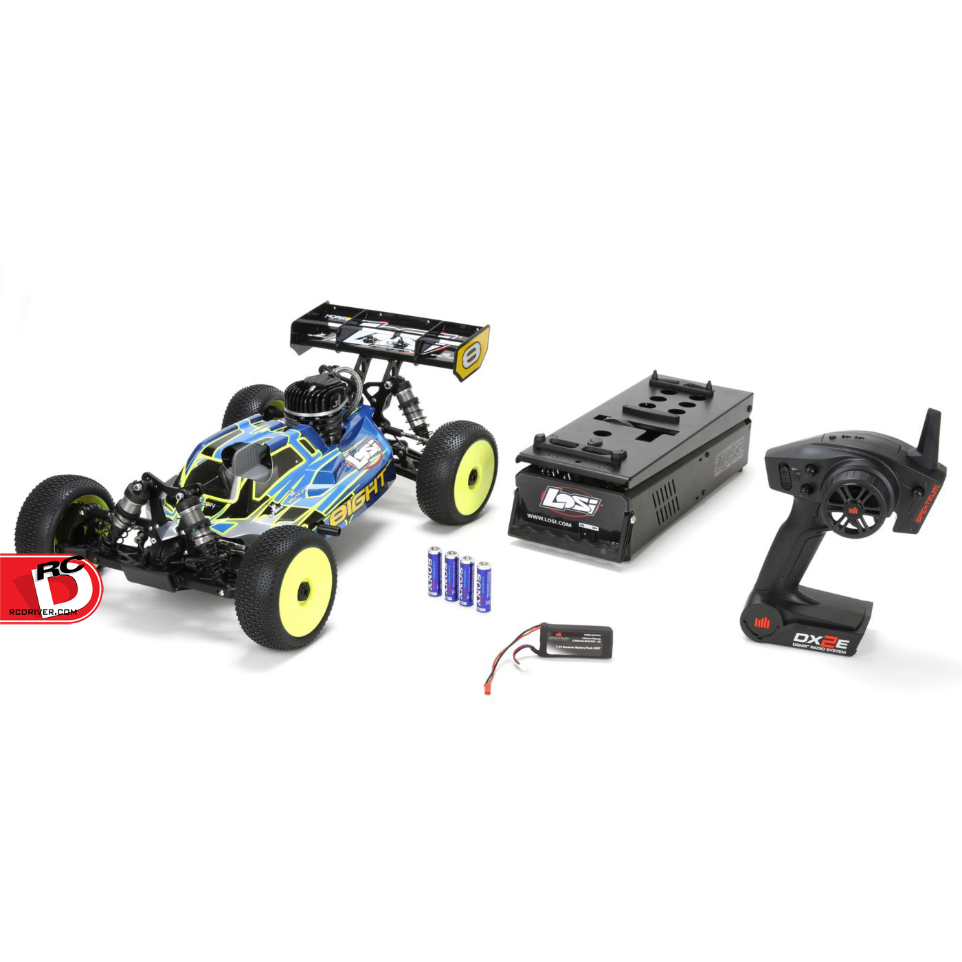 Losi 8IGHT Gas Buggy RTR with AVC