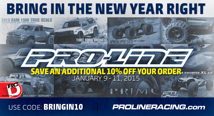 Save 10% on Pro-Line Products You Need!