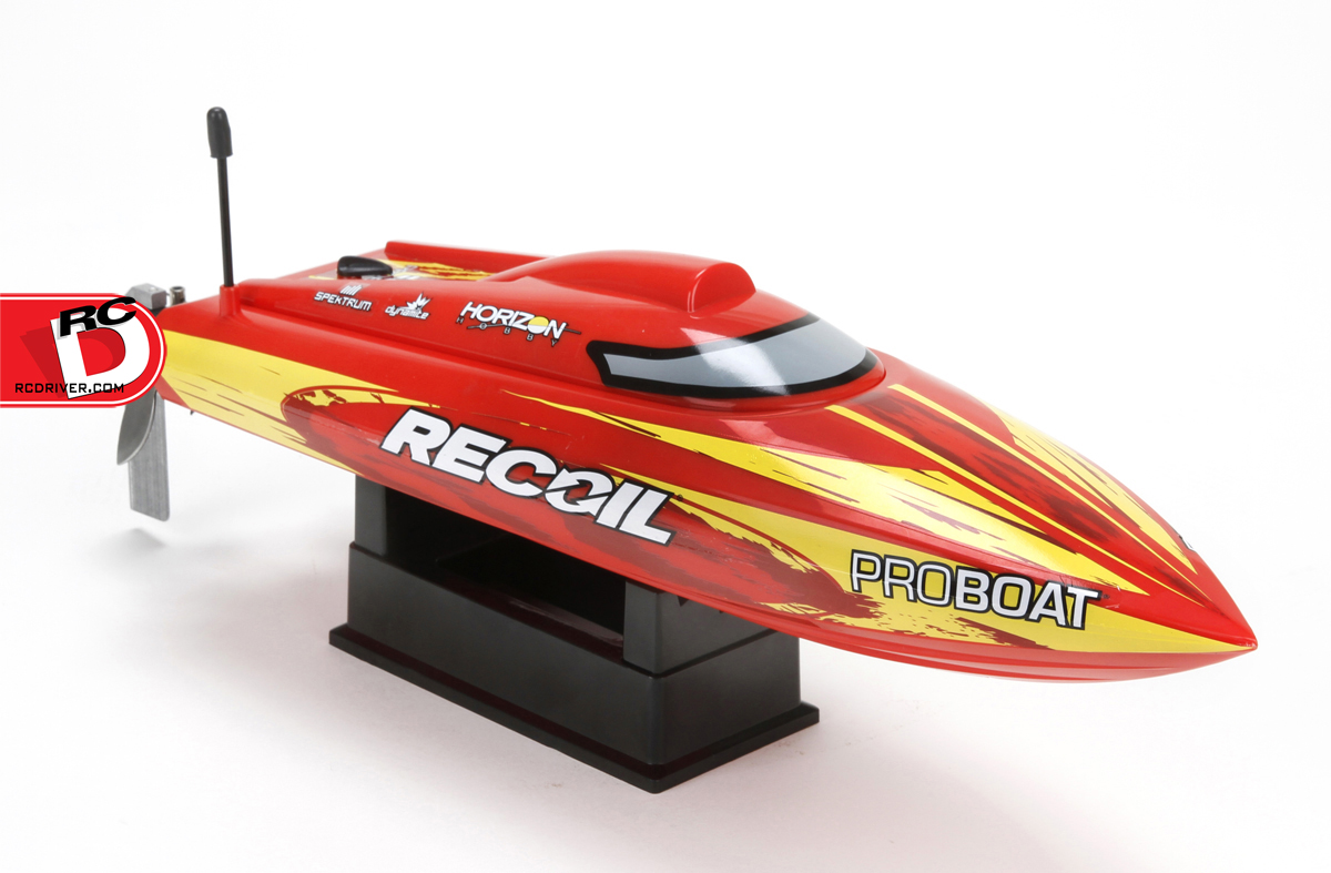 Pro Boat Recoil 17 Deep-V BL Self-Righting RTR