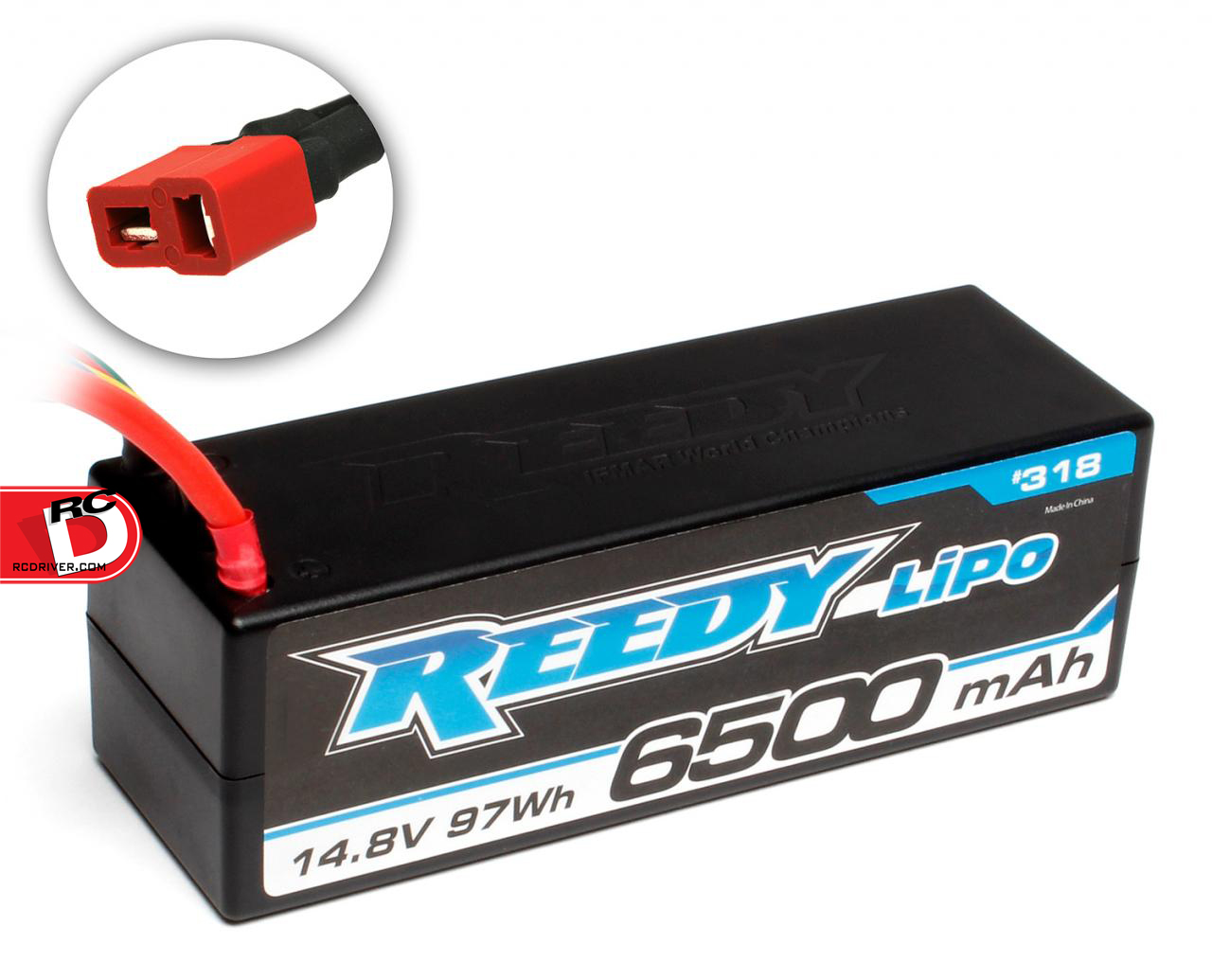Reedy's 6500mAh 65C 14.8V Competition LiPo Battery