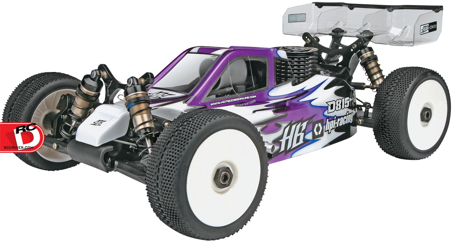 HB D815 Tessmann Worlds Edition 1/8 Buggy