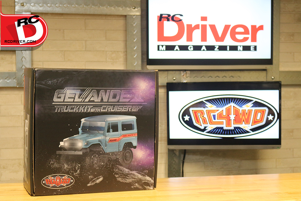 RC4WD Gelande II Truck Kit with Cruiser Body Set
