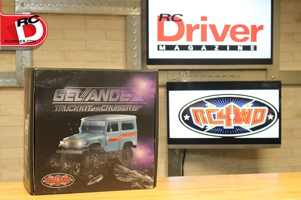 RC4WD Gelande II Truck Kit with Cruiser Body Set