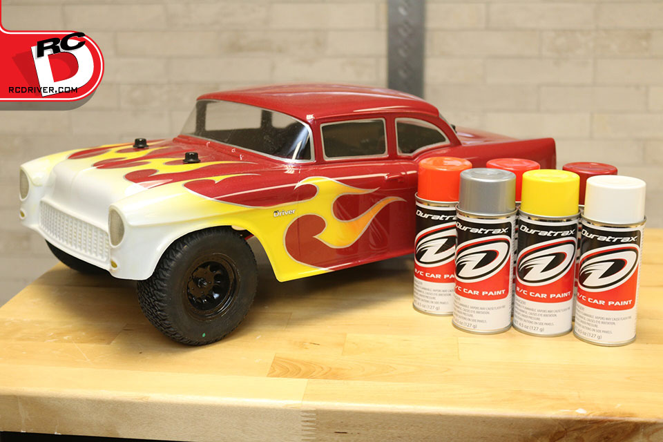 Classic Flame Graphics with Duratrax Paint