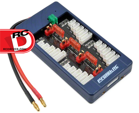 Charge More Batteries With The ProTek RC 2S-6S 4-Battery Parallel Charger Board