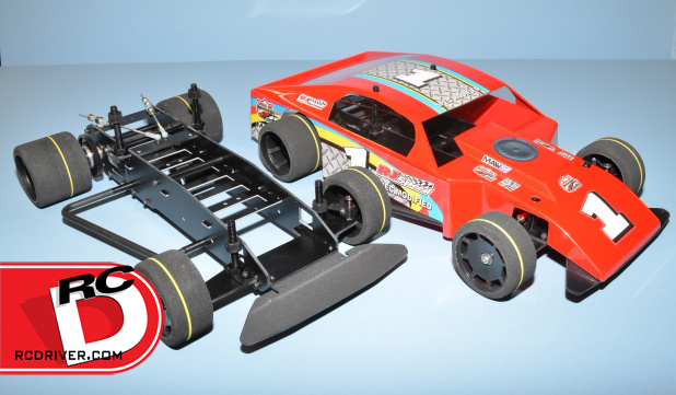 RJ Speed Spec Modified Oval Chassis Kit