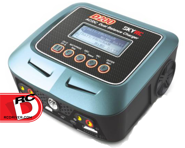 SkyRC D200 AC/DC Dual balance Charger/Discharger and Soldering Iron