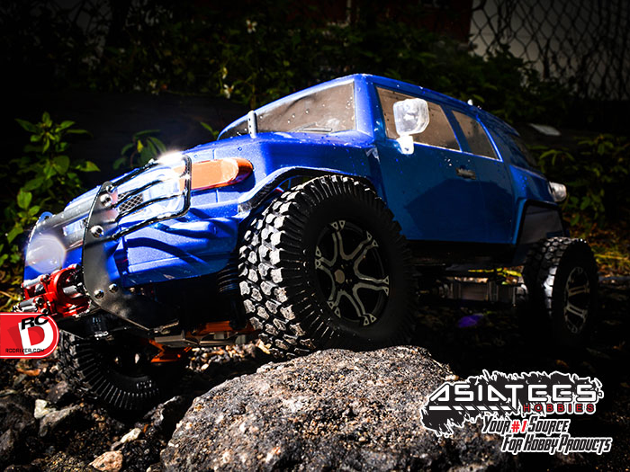 Beastly Aluminum Upgrades On The Tamiya CC01 At AsiaTees