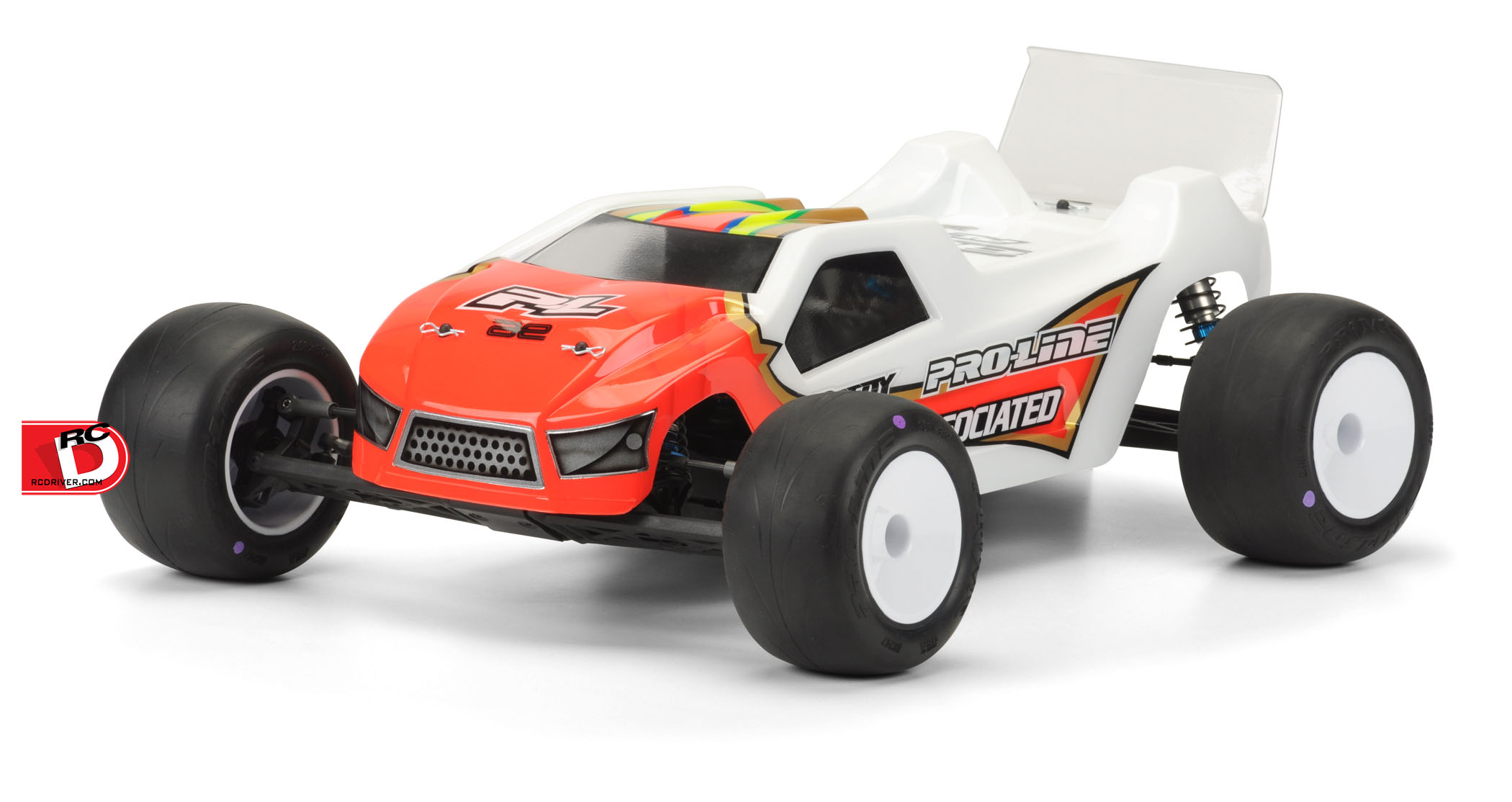 Pro-Line BullDog Mid Motor Clear Body for the T5M
