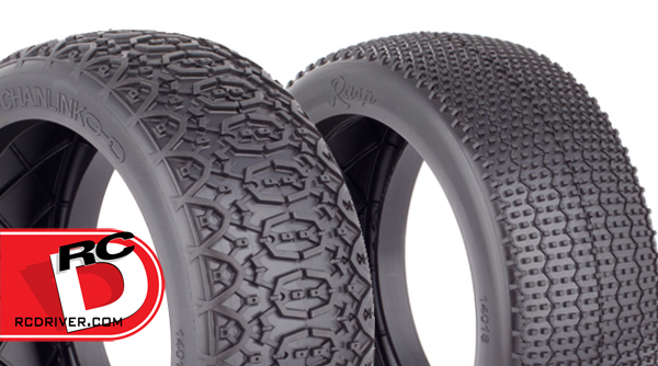 Chain Link and Rasp 1:8 Tires from AKA