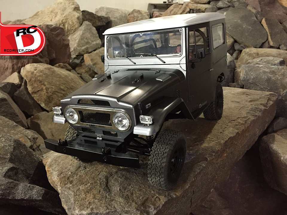 RC4WD Gelande II with Cruiser Body