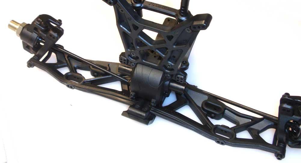 Axial Yeti XL Build – Front Suspension