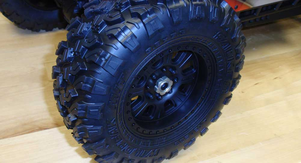 Axial Yeti Xl Build Body Wheels And Tires