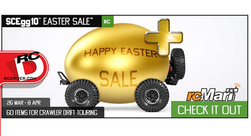 RCMart's Golden Egg Easter Sale