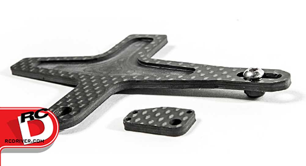 Schelle Shorty Carbon Fiber Battery Strap for TLR 22-4