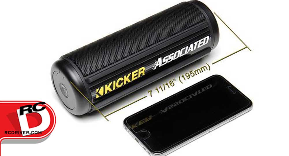 Team Associated and KICKER: KPw Bluetooth Speaker