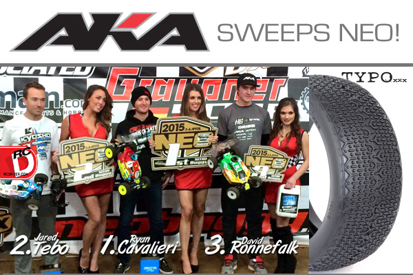 AKA Tires, Rims and Inserts Sweeps NEO Podium
