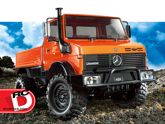Tamiya Mercedes-Benz UNIMOG 425 on CC-01 Chassis