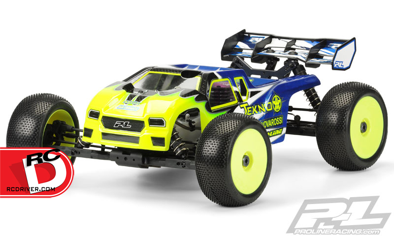 Pro-Line Enforcer Clear Body for the Tekno NT48