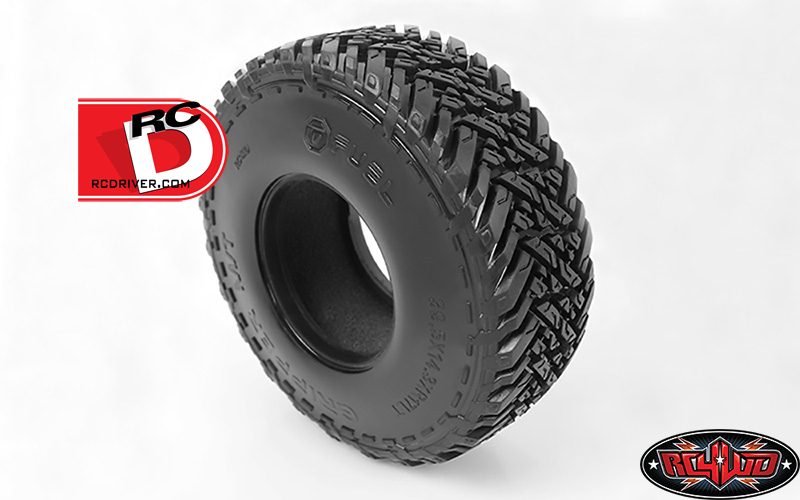 "RC4WD - Fuel Mud Gripper M-T 1.7"" Scale Tires"