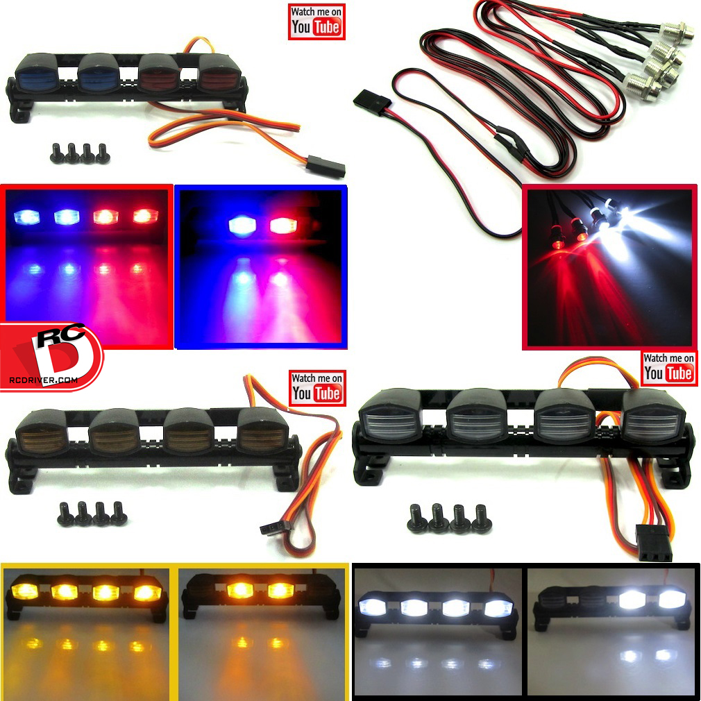 Be Seen With LED Light Bars from The Toyz