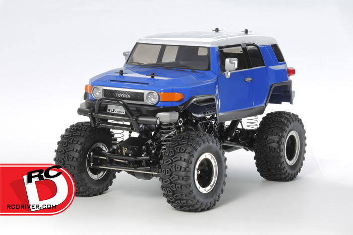 Tamiya Toyota FJ Cruiser on CR-01 Chassis