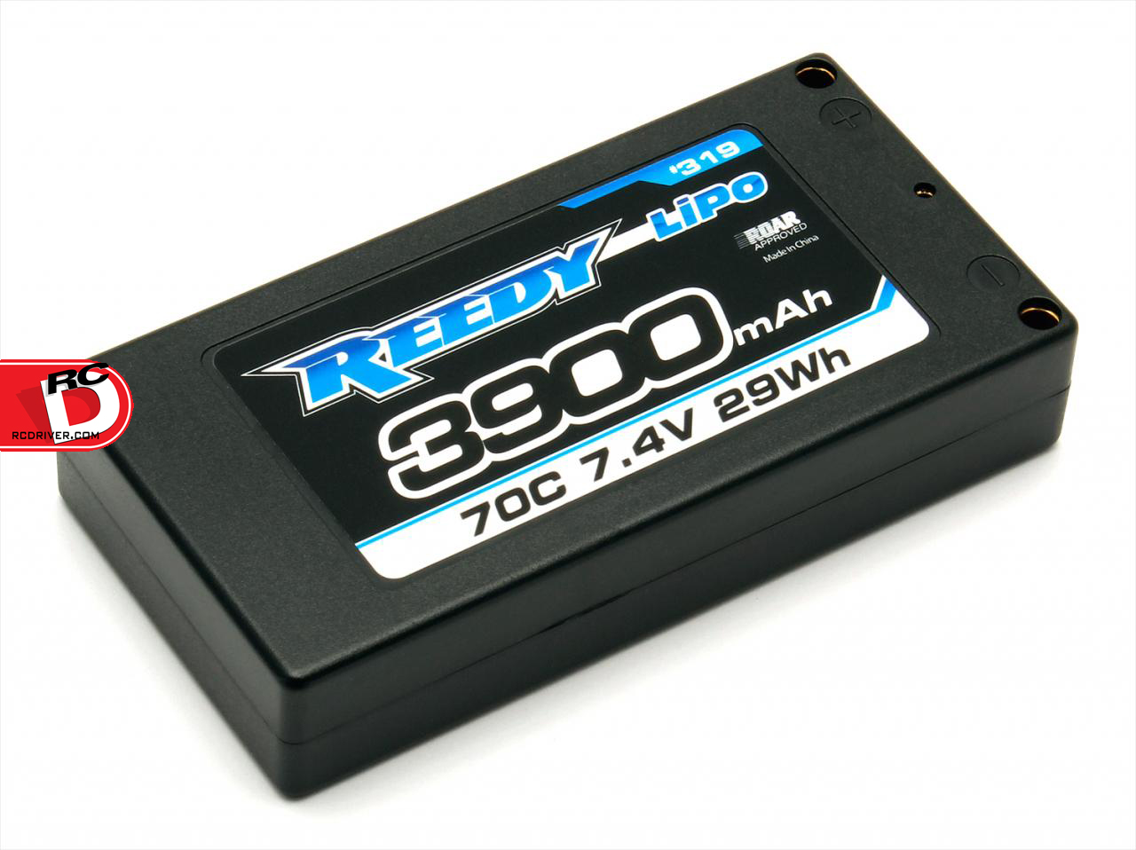 Reedy 3900mAh 70C 7.4V LP Shorty Competition LiPo Battery