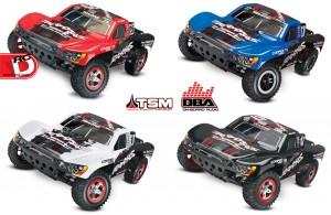 Traxxas - Slash VXL and Slash 4x4 VXL with LCG Chassis TSM and OBA_1