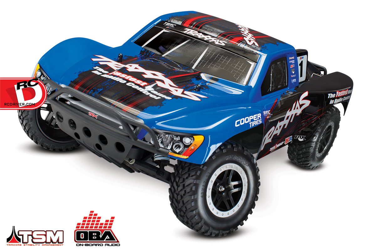 Slash VXL and Slash 4×4 VXL with LCG Chassis, TSM and OBA