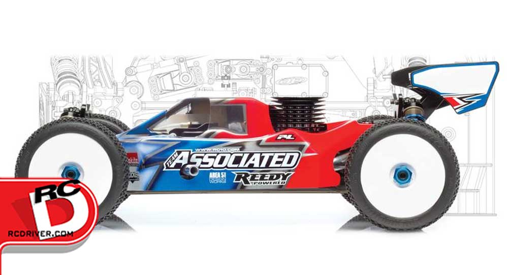 Team Associated's New RC8 Scooped