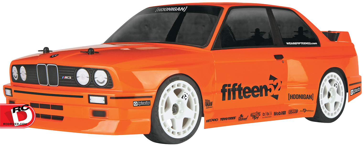 HPI RS4 Sport 3 4WD with BMW M3 E30 Body